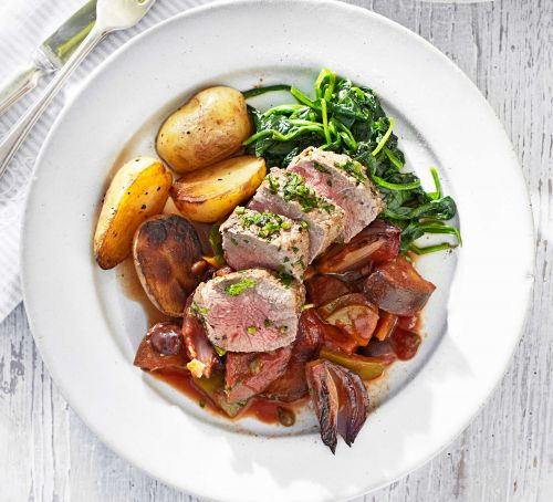 herby lamb recipe for clean eating